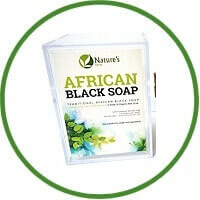 Nature's form African Black Soap for psoriasis